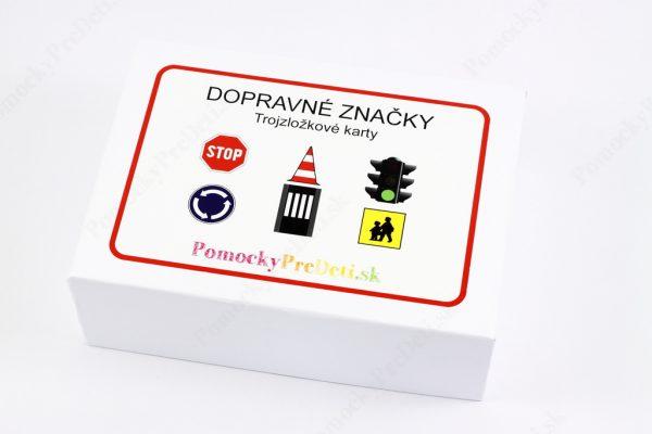 Dopravné značky - krabička