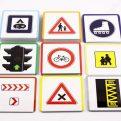 Dopravné značky - karty s dopravnou značkou