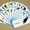 Domino - Vodné živočíchy (náhľad na všetky karty)