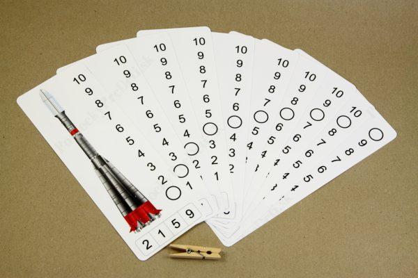 Číselný rad do 10 - náhľad na všetky karty