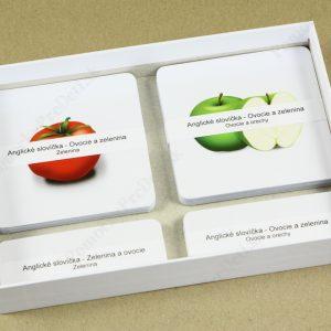 Anglické slovíčka - Ovocie a zelenina MAXI