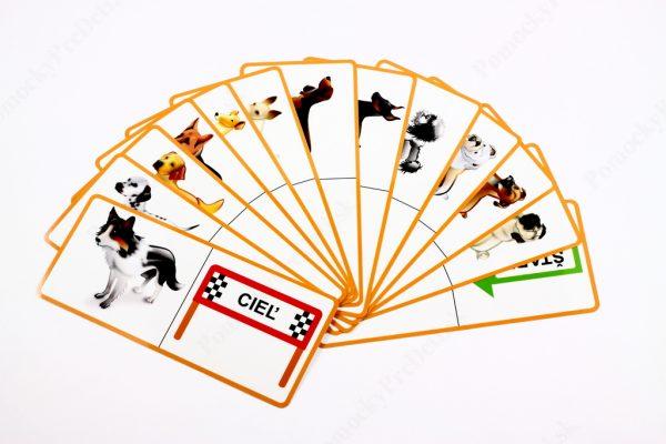 Domino - Psy - náhľad na všetkých 13 kariet