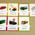 Dopravné prostriedky MAXI - kontrolné karty