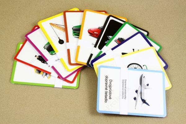 Dopravné prostriedky MAXI - všetky kontrolné karty