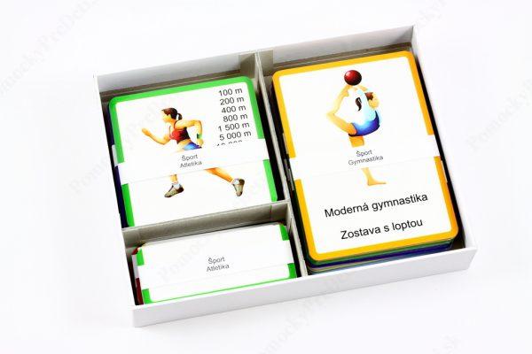 Šport MAXI - otvorená krabička