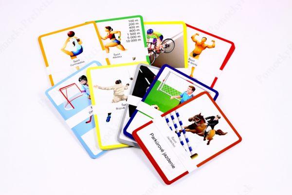 Šport MAXI - kontrolné karty