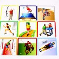 Šport MAXI - karty s obrázkom športovej disciplíny