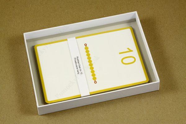 Rozklad čísel do 10 - otvorená krabička