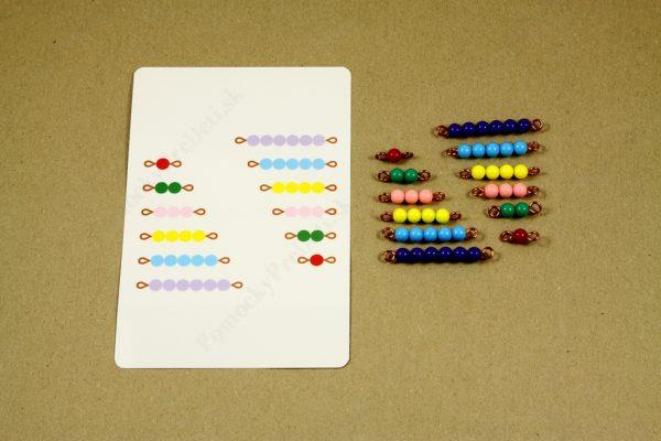 Rozklad čísel do 10 - rozklad čísla 6 - kontrola správnosti