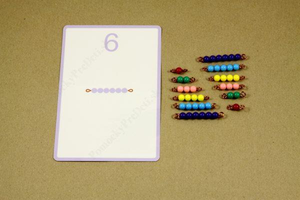 Rozklad čísel do 10 - rozklad čísla 6