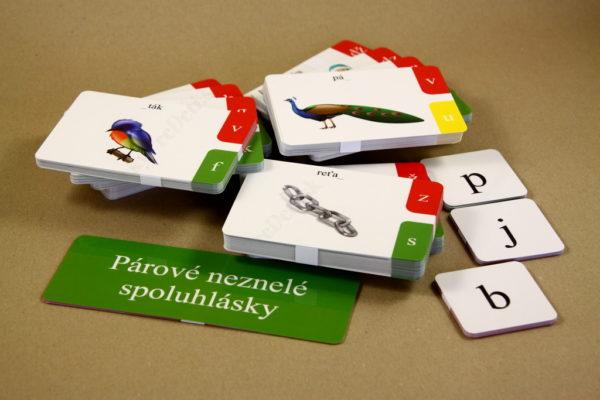 Spodobovanie - Štipcové a priraďovacie karty - obsah balenia - spolu 360 kartičiek
