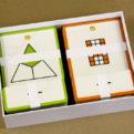 Zlomok ako časť z celku - priraďovacie karty - obsah balenia