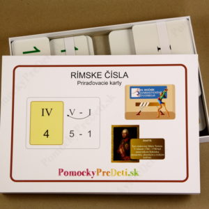 Rímske čísla - obsah balenia - 271 kariet