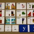 Slová s i/y po tvrdých a mäkkých spoluhláskach - 318 kartičiek