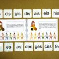 Posuvky - trpaslíci | Priraďovacie karty + učebnica | poradie krížikov a bé