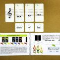 Posuvky - trpaslíci | Priraďovacie karty | priraďovanie enharmonických tónov